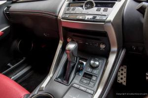 Lexus NX F Sport Shift Switch
