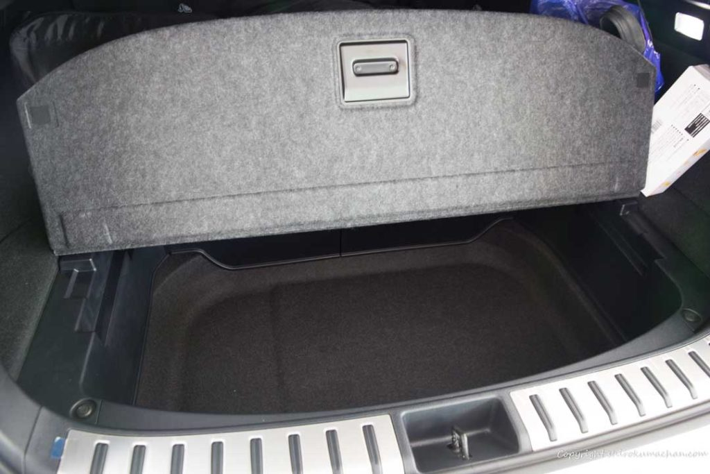 Lexus NX Luggage Space
