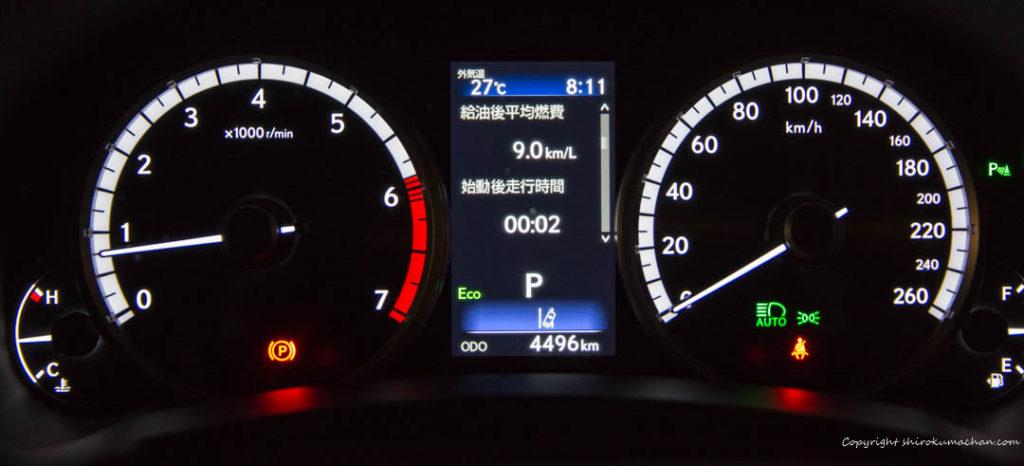 Lexus NX F Sport-Fuel economy