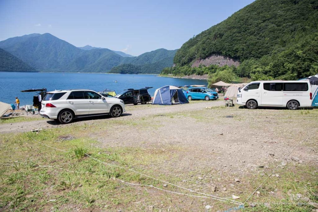 motosu-lake-side-auto camp-site