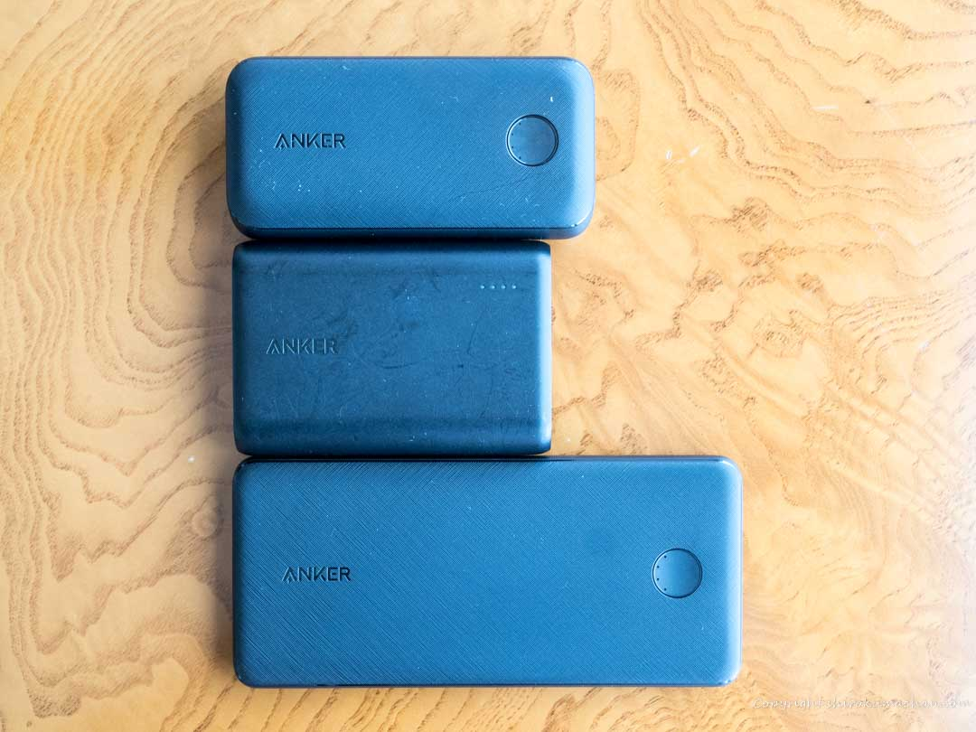Anker Mobile Battery Comparison