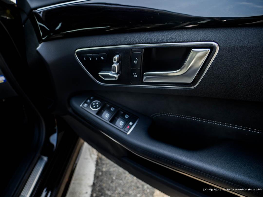 Mercedes Benz Seat Memory E class