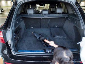 Mercedes Benz GLC Luggage Space