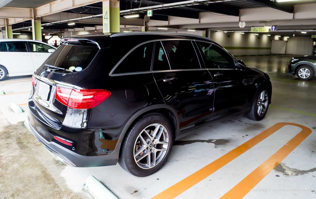 Mercedes Benz GLC Rear