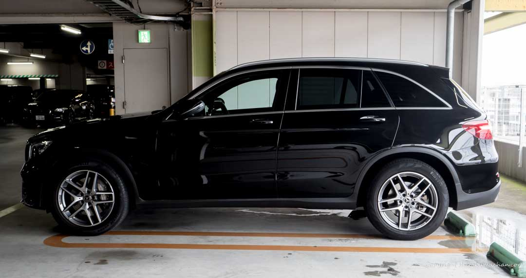 Mercedes Benz GLC Size