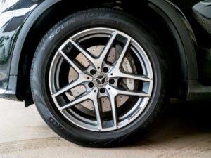 Mercedes Benz GLC tire and wheel
