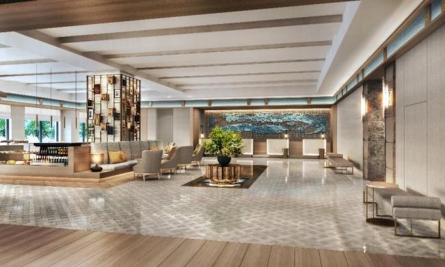 Hilton Hiroshima Lobby