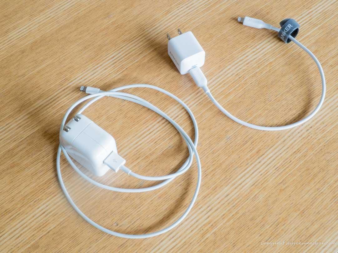 Anker PowerPort III Nano-Apple Charger Comparison