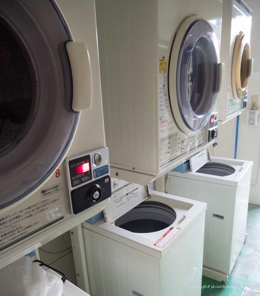 クラブメッド石垣島の洗濯乾燥機