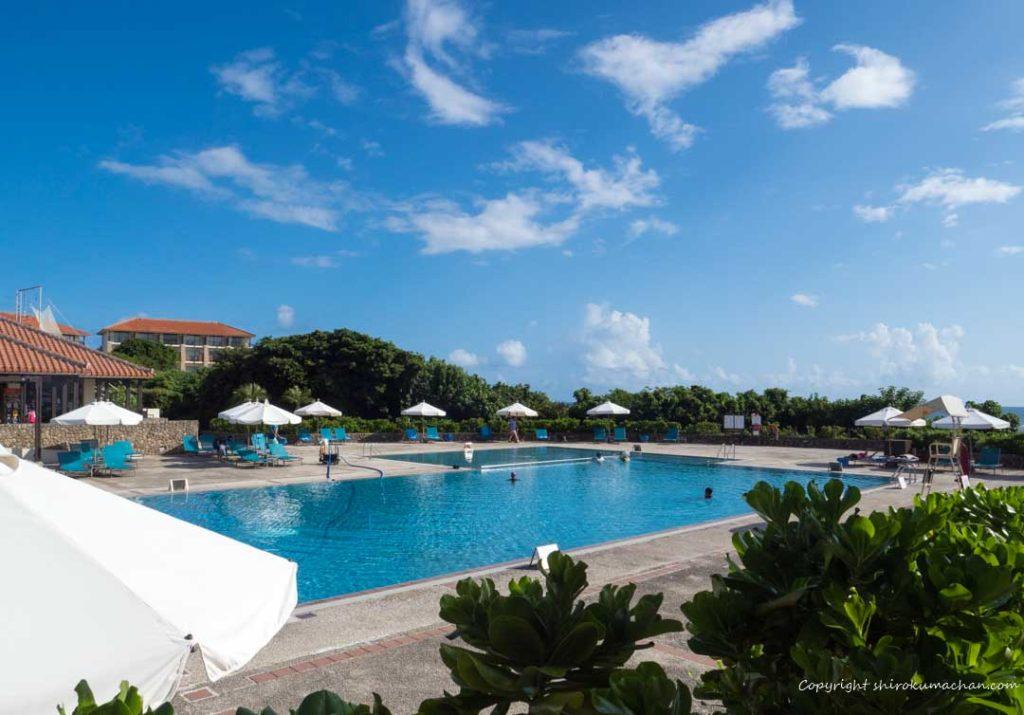 Club Med Ishigaki Kabira Main Pool at daytime