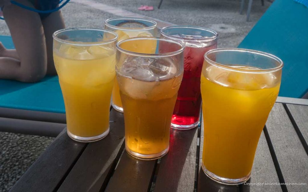 Club Med Ishigaki Pool Drink