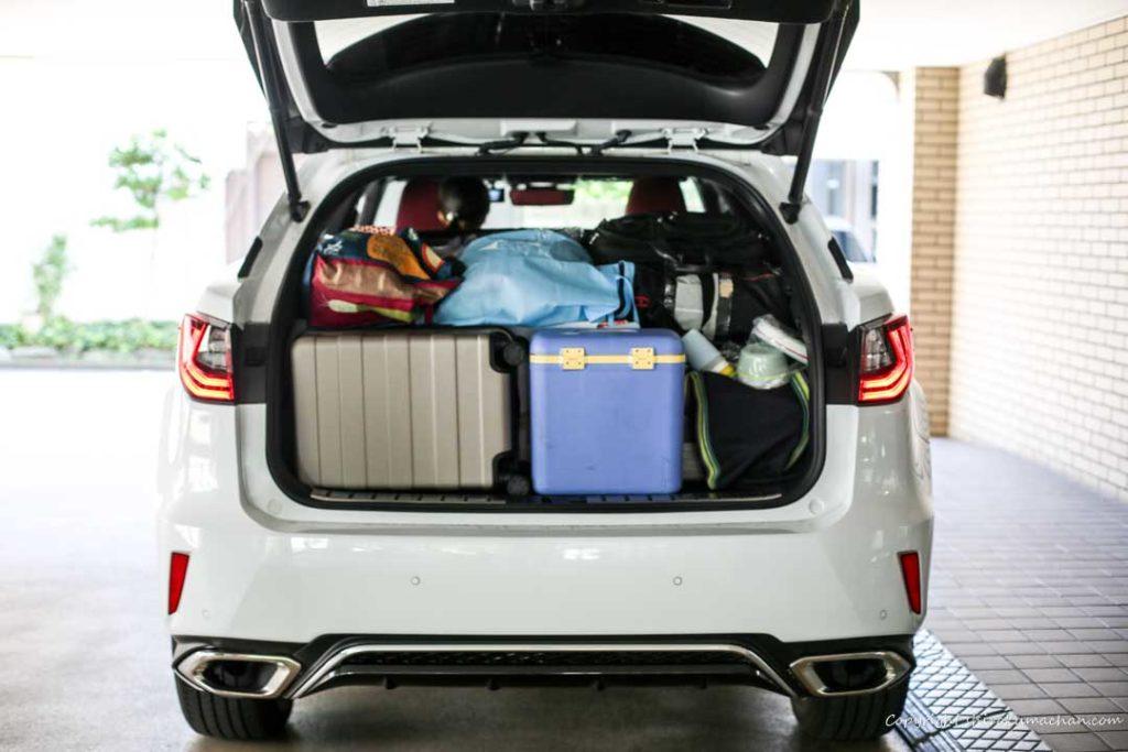 Lexus RX Camping