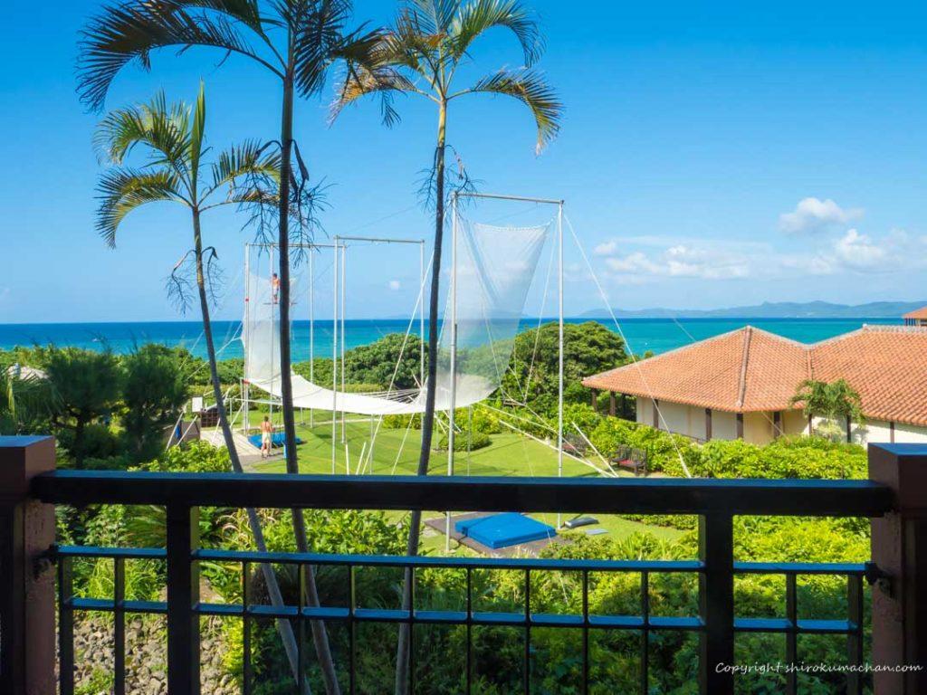 クラブメッド石垣島の部屋からの眺め