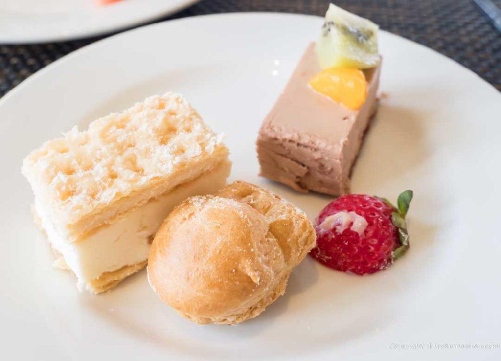 dessert in club med Ishigaki