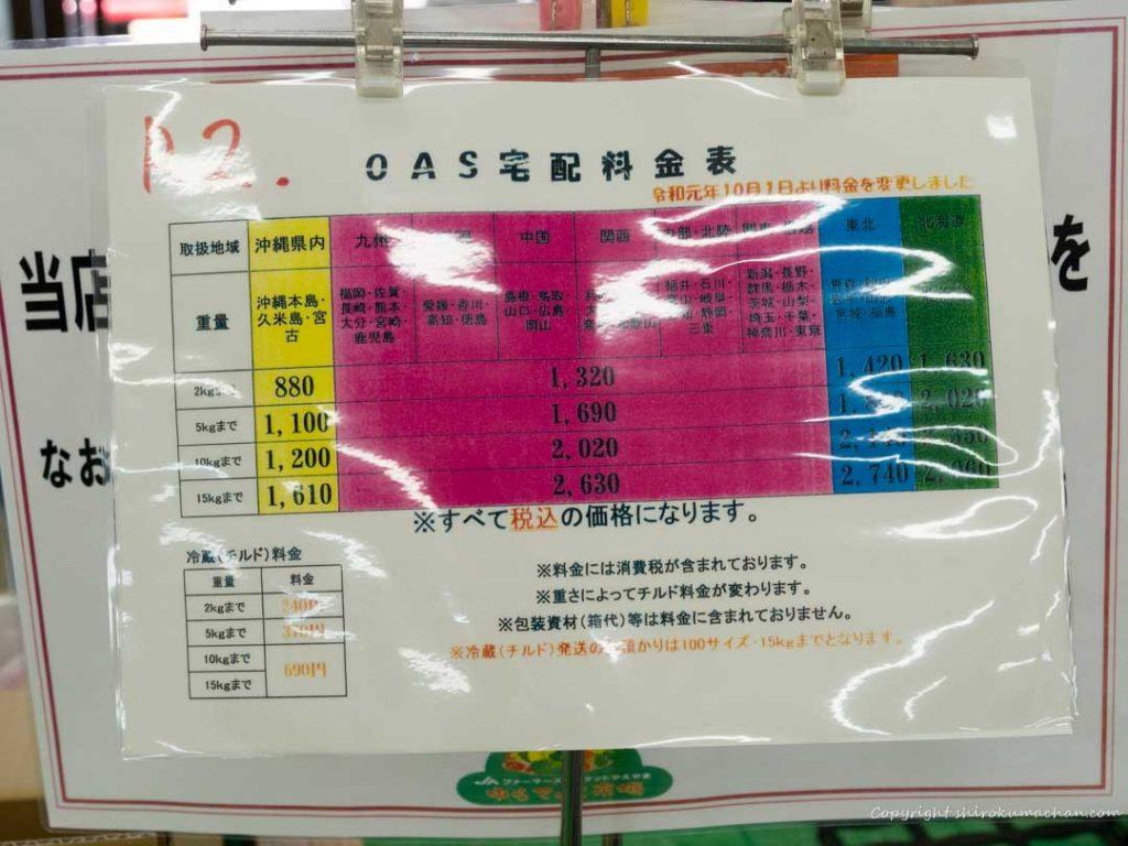 JA farmars market yurateiku-配送料金