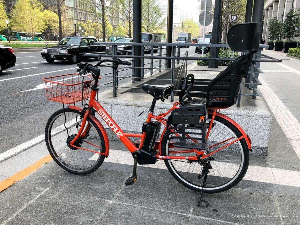 オシャレな子供のせ電動自転車