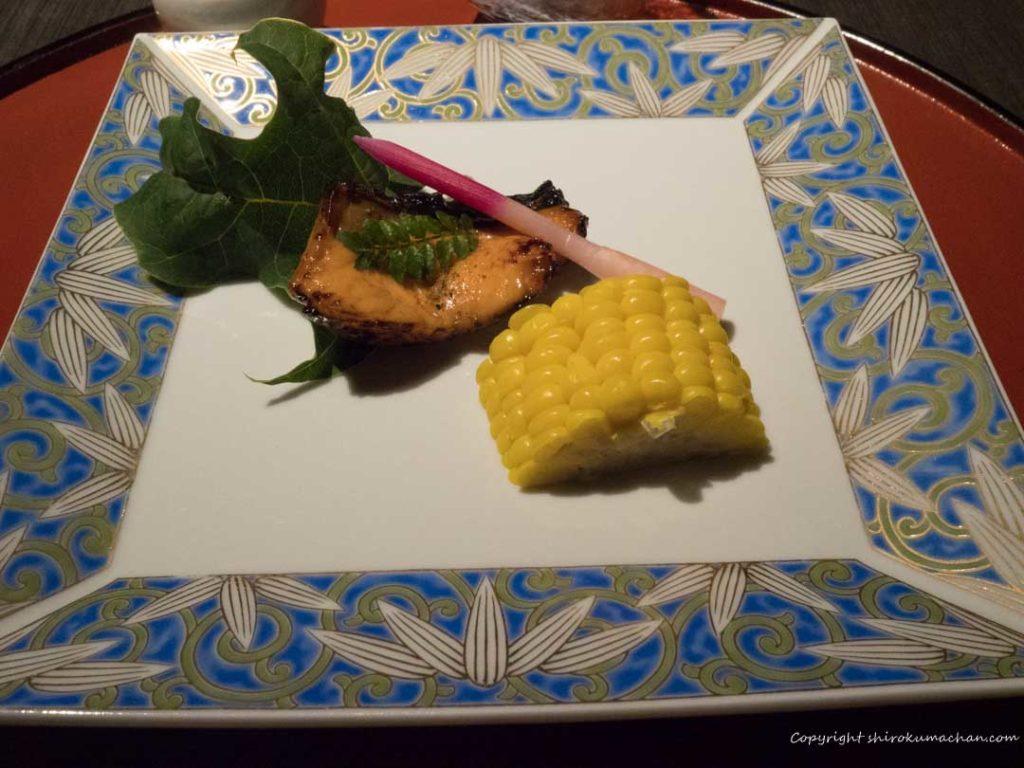 Takinoya Dinner Hokkaido Noboribetsu Fish