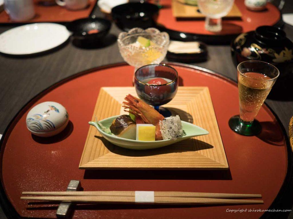 Takinoya Dinner Sakiduke Zensai