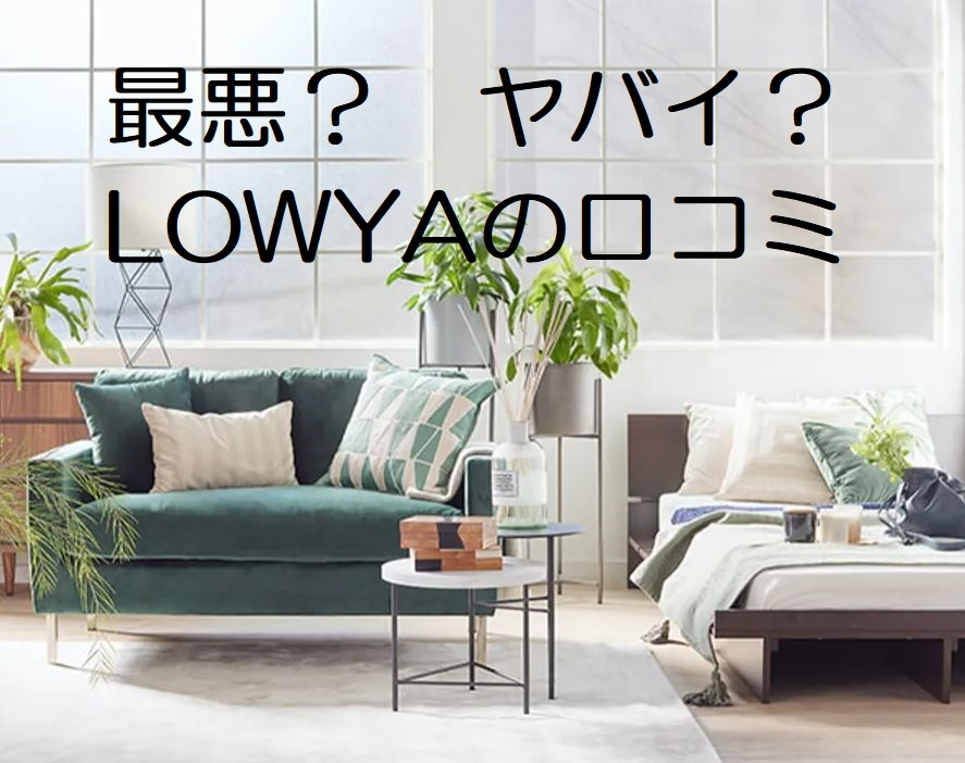 LOWYA ヤバイ 最悪