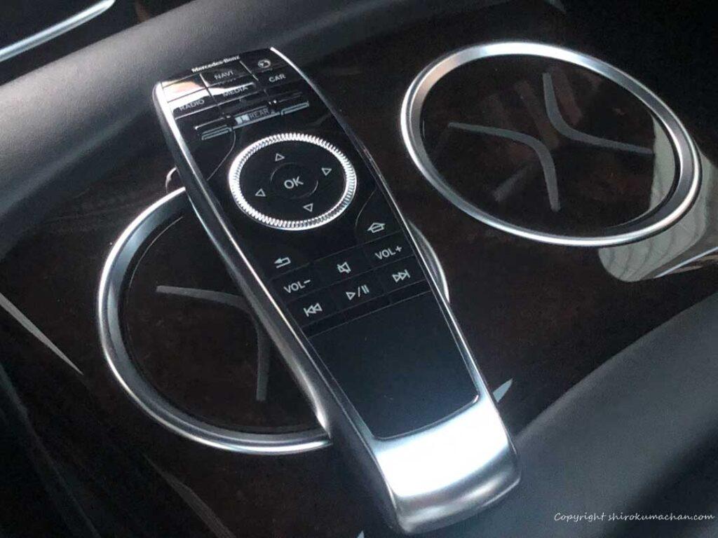 Mercedes Benz S class Massage Controller