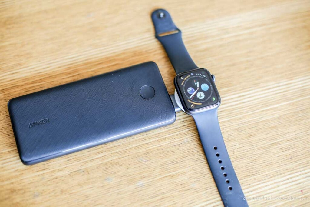 Review Anker Portable Magnetic Charger for Apple Watch