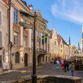 エストニア タリン 旧市街の街並み