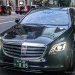 Tokyo hire service Mercedes S class